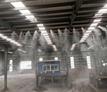 宁波宝丰冶金渣喷雾降尘案例