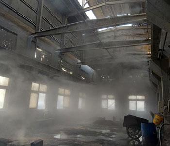 铸造车间喷雾降尘案例