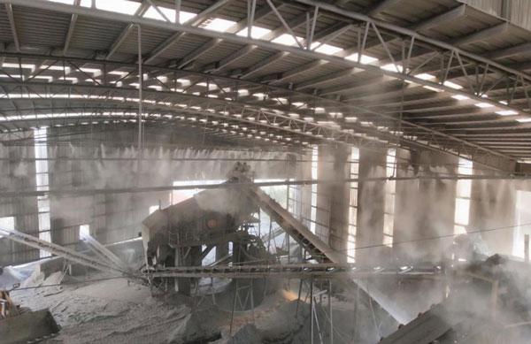 工厂车间喷雾除尘系统