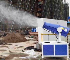 使用炮雾机喷雾降尘有哪些好处