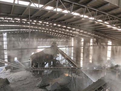 碎石厂喷雾除尘系统